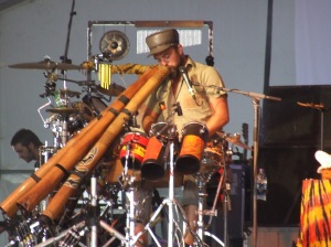 Xavier Rudd, ACL 2008, photo by Justin